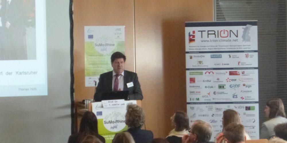 SuMo-Rhine, Auftaktveranstaltung des Interreg-V-Projektes Nachhaltige Mobilität in der Oberrheinregion 12. März 2019, Regierungspräsidium Karlsruhe