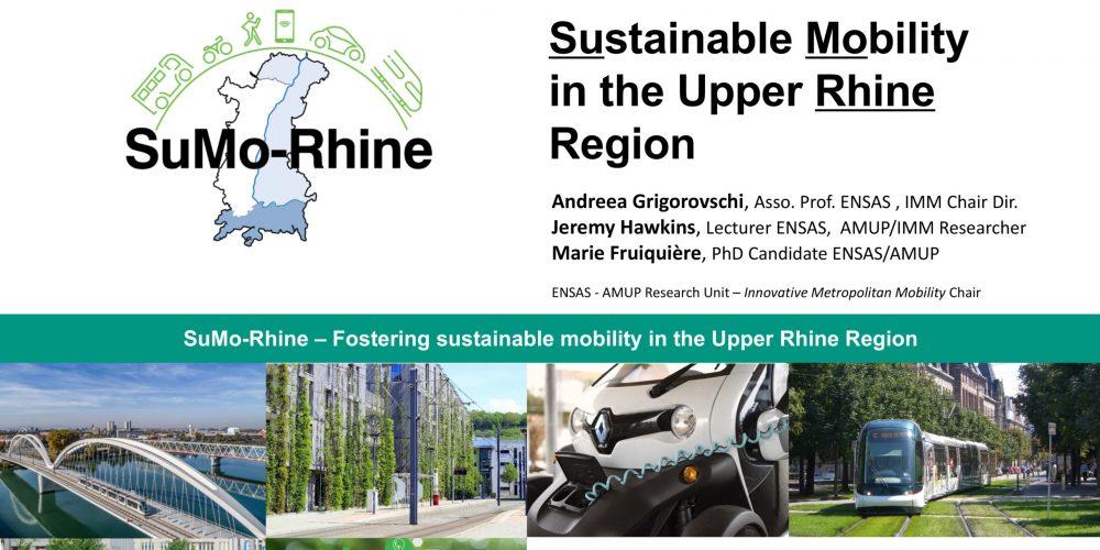 Vorstellung des SuMo Rhine Projekts auf der T2M / THNS Joint Virtual Conference 2020
