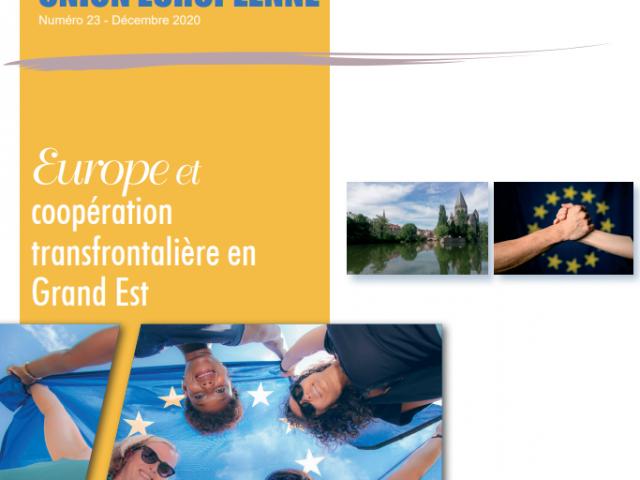 """Vorstellung des SuMo-Rhine Projekts in """"Trait d'Union européenne"""""""