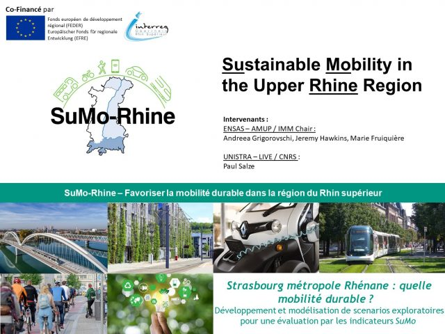 « Strasbourg métropole Rhénane : quelle mobilité durable ? »