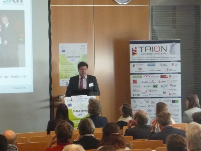 SuMo-Rhine, kick-off event of the Interreg-V-Project Sustainable Mobility in the Upper Rhine Region 12 March 2019, Regierungspräsidium Karlsruhe