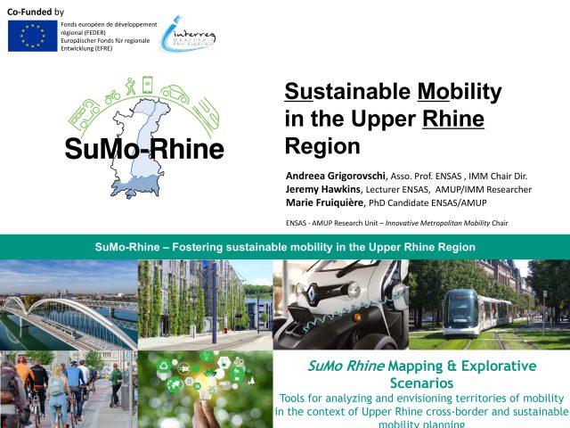 Le programme SuMo Rhine présenté à la T2M / THNS Joint Virtual Conference 2020